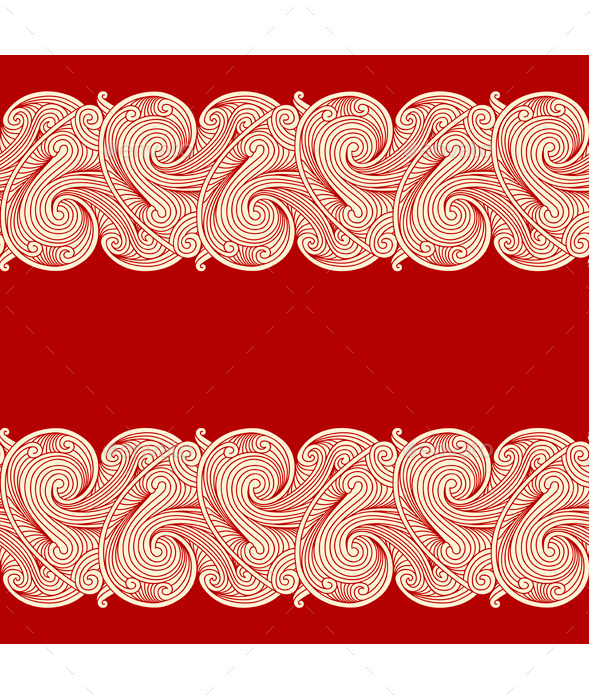 Floral Pattern - Borders Decorative