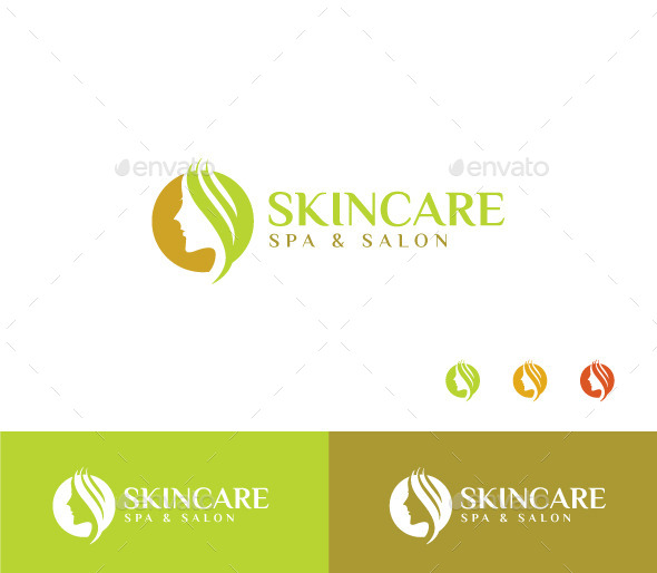 Skin Care - Humans Logo Templates