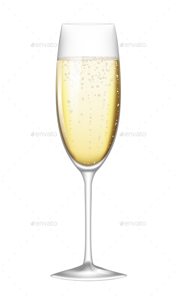 Glass of Champagne - Miscellaneous Seasons/Holidays