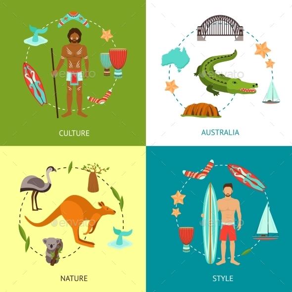 Australia Design Concept - Travel Conceptual