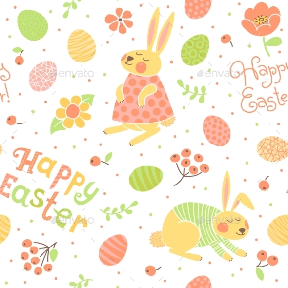 Easter Pattern - Seasons/Holidays Conceptual