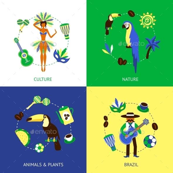 Brazil Design Concept - Travel Conceptual