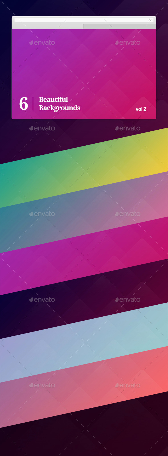 Beautiful Backgrounds Vol 2 - Abstract Backgrounds