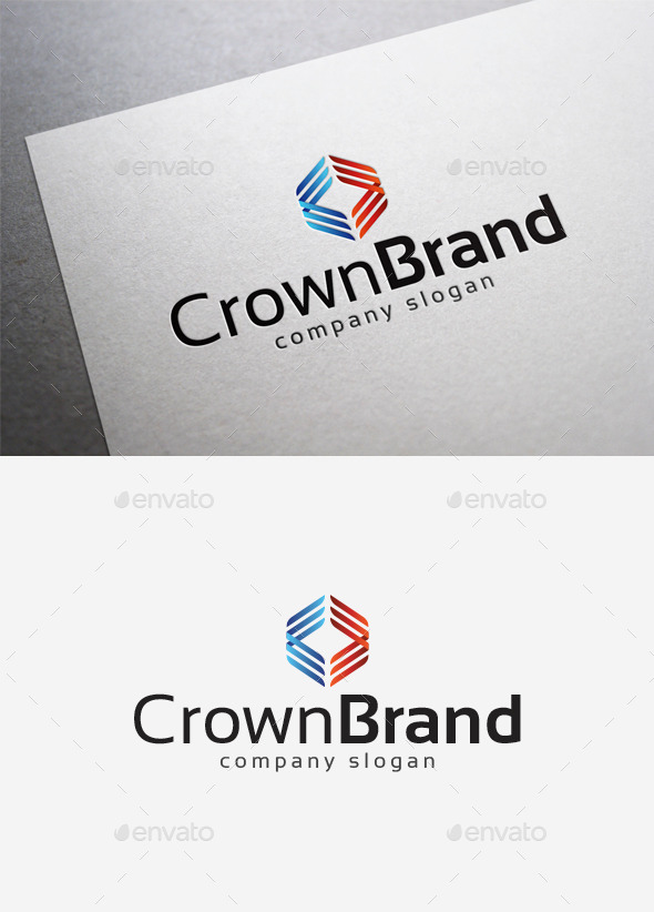 Crown Brand Logo - Abstract Logo Templates