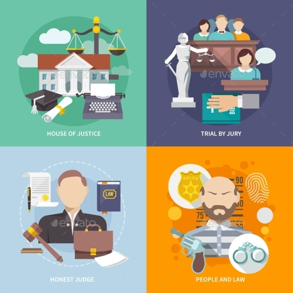 Law Icons - Miscellaneous Vectors