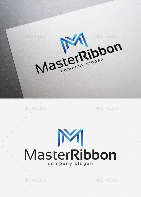 Master Ribbon Logo - Letters Logo Templates