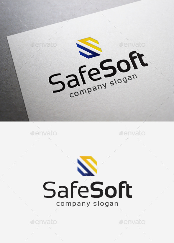 Safe Soft Logo - Abstract Logo Templates