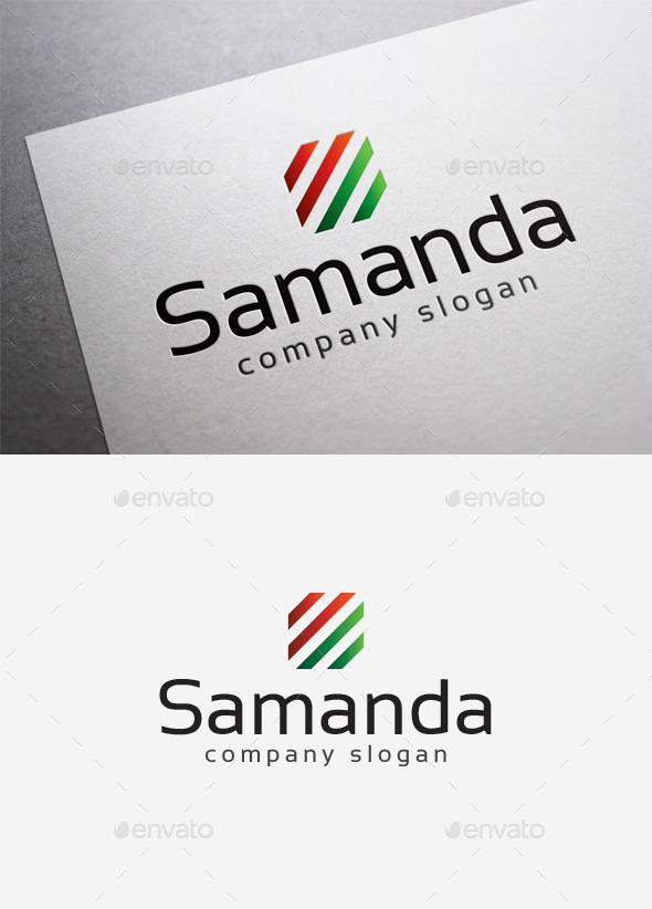 Samanda Logo - Abstract Logo Templates