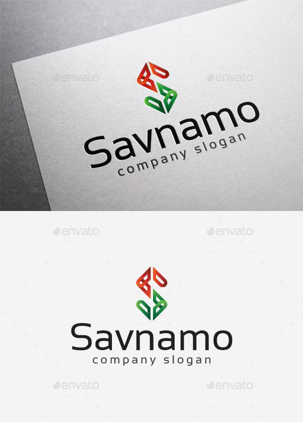 Savnamo Logo - Letters Logo Templates