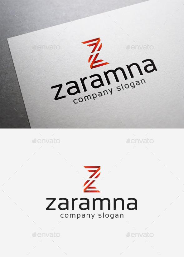 Zaramna Logo - Letters Logo Templates