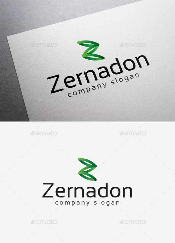 Zernadon Logo - Letters Logo Templates