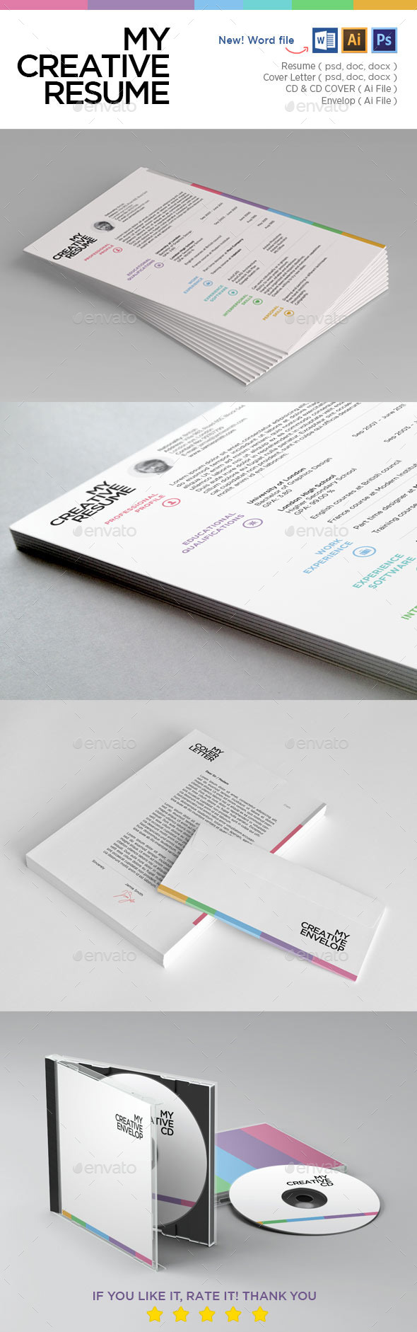 My Creative Resume - Resumes Stationery