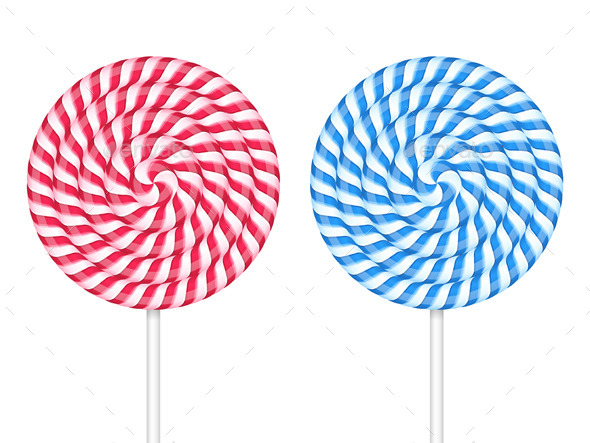Lollipops - Objects Vectors