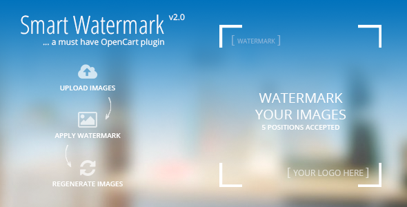 Smart Watermark - A must have Opencart Plugin nulled free download