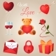 Valentine's Day Icons Set - GraphicRiver Item for Sale