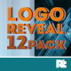Logo Reveal 12 Pack - VideoHive Item for Sale