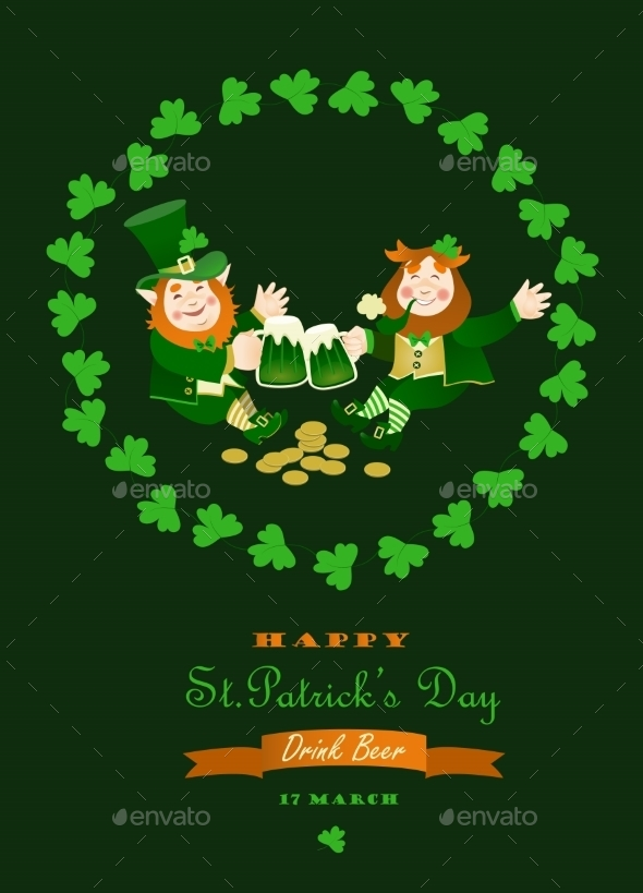 St. Partick Day Greeting Card - Miscellaneous Seasons/Holidays