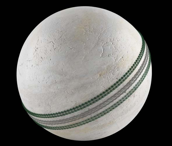 CRICKET BALL  WITH VRAY SETUP - 3DOcean Item for Sale