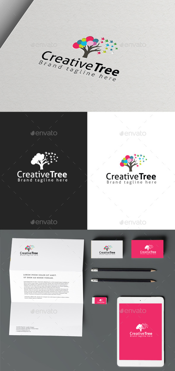 Creative Tree - Nature Logo Templates