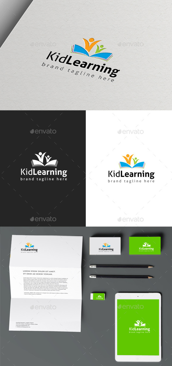 Kids Learning - Objects Logo Templates