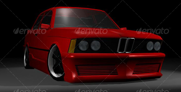 BMW E21 - 3DOcean Item for Sale