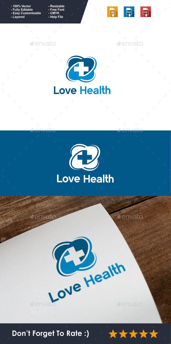Love Health Logo - Symbols Logo Templates