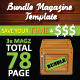 Bundle Magazine Template - GraphicRiver Item for Sale