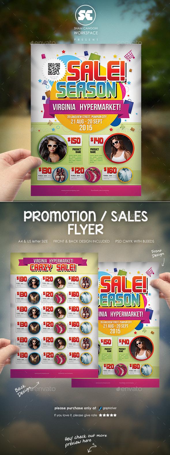 Sales Promotion Flyer - Miscellaneous Events