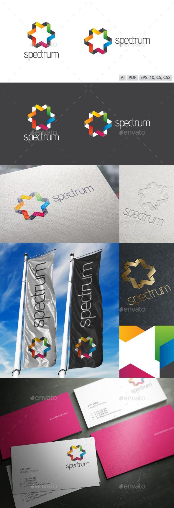 Spectrum Logo - Abstract Logo Templates