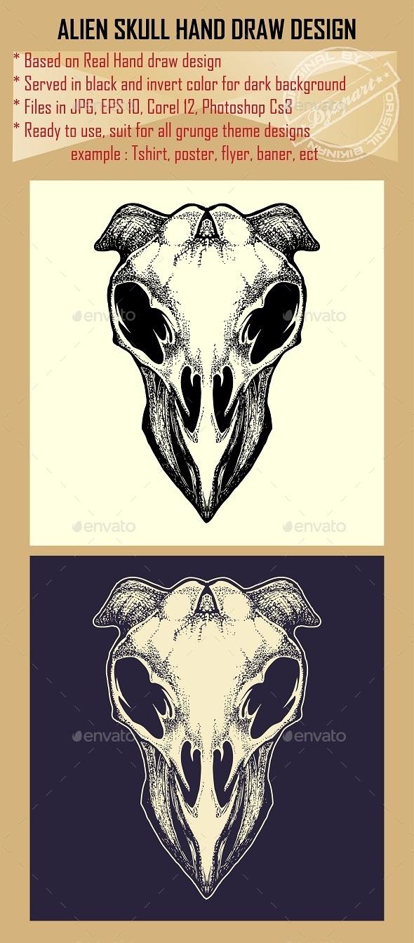 Alien Skull - Miscellaneous Characters
