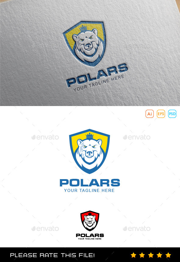 Polar Bear Logo - Animals Logo Templates