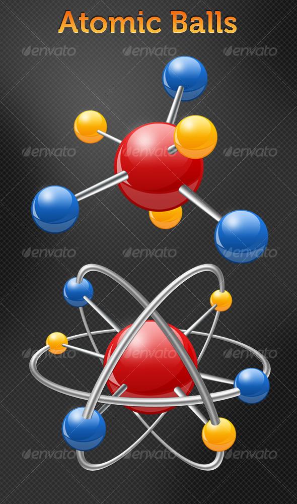 Atomic Balls - Miscellaneous Illustrations