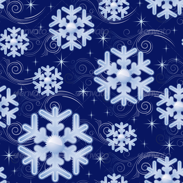 Snowflakes - Patterns Decorative