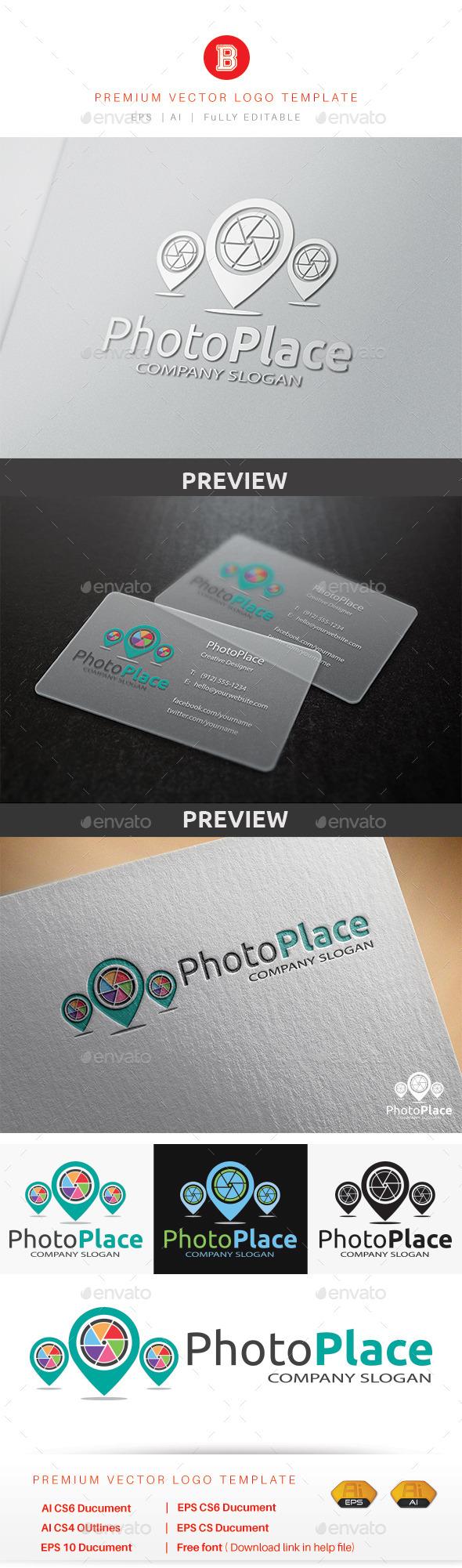 Photo Place - Symbols Logo Templates