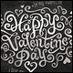 Happy Valentine's Day Hand Lettering Set - GraphicRiver Item for Sale