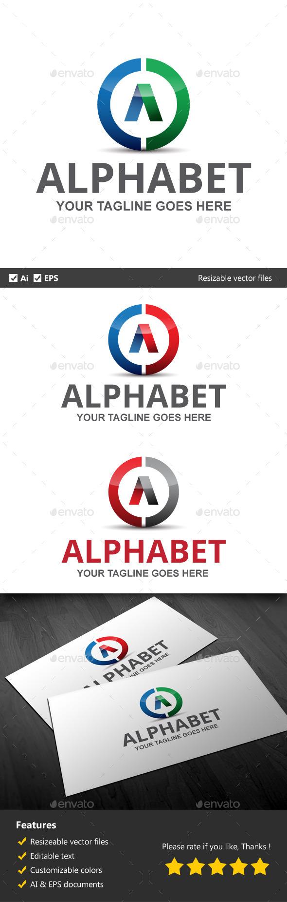 Alphabet - Letters Logo Templates