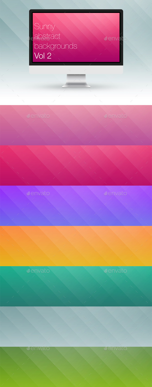 Sunny Abstract Backgrounds Vol 2 - Abstract Backgrounds