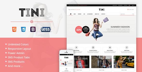 SNS Tini - Premium Responsive Magento Theme - Magento eCommerce