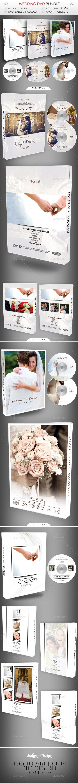 Wedding DVD / Blu-Ray Bundle - CD & DVD Artwork Print Templates