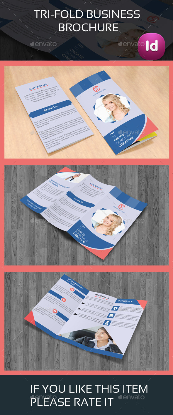 Trifold Business Brochure  03 - Corporate Brochures