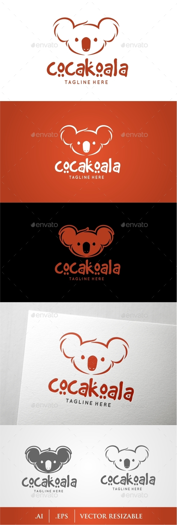 Koala Logo - Animals Logo Templates