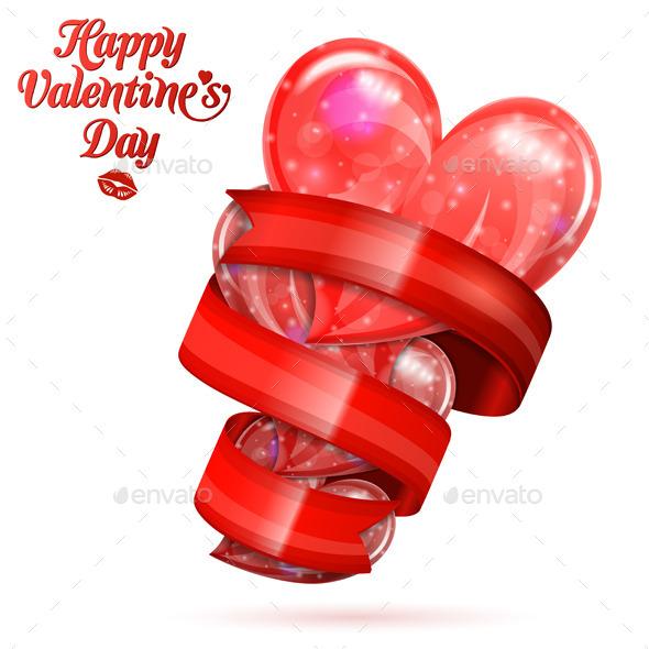 Valentine's Day Hearts - Valentines Seasons/Holidays