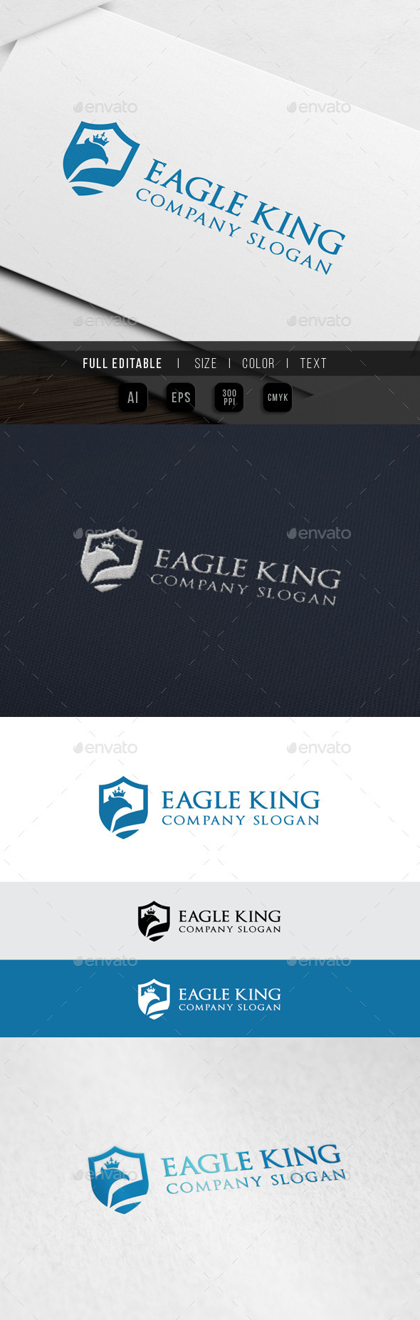 Eagle King Consulting Logo - Crests Logo Templates