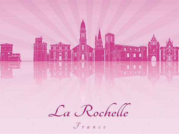 La Rochelle Skyline