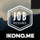 Job Resume - GraphicRiver Item for Sale