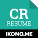 Creative Resume CV - GraphicRiver Item for Sale