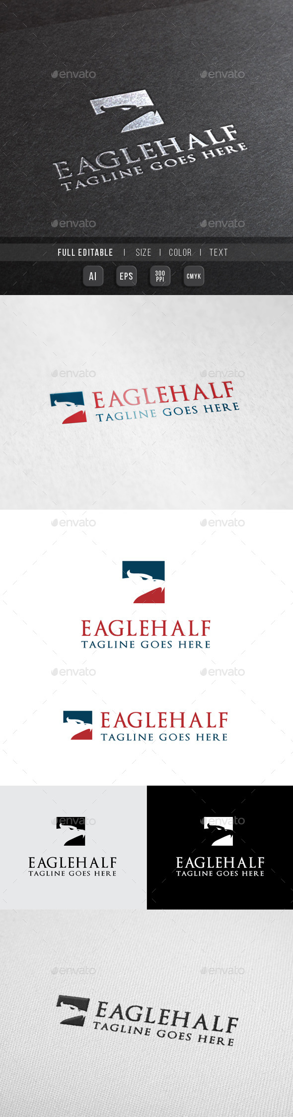 Eagle Finance - Tour Travel Logo - Animals Logo Templates