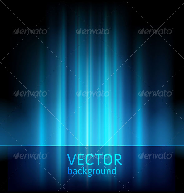 Abstract lights background - vector - Abstract Conceptual