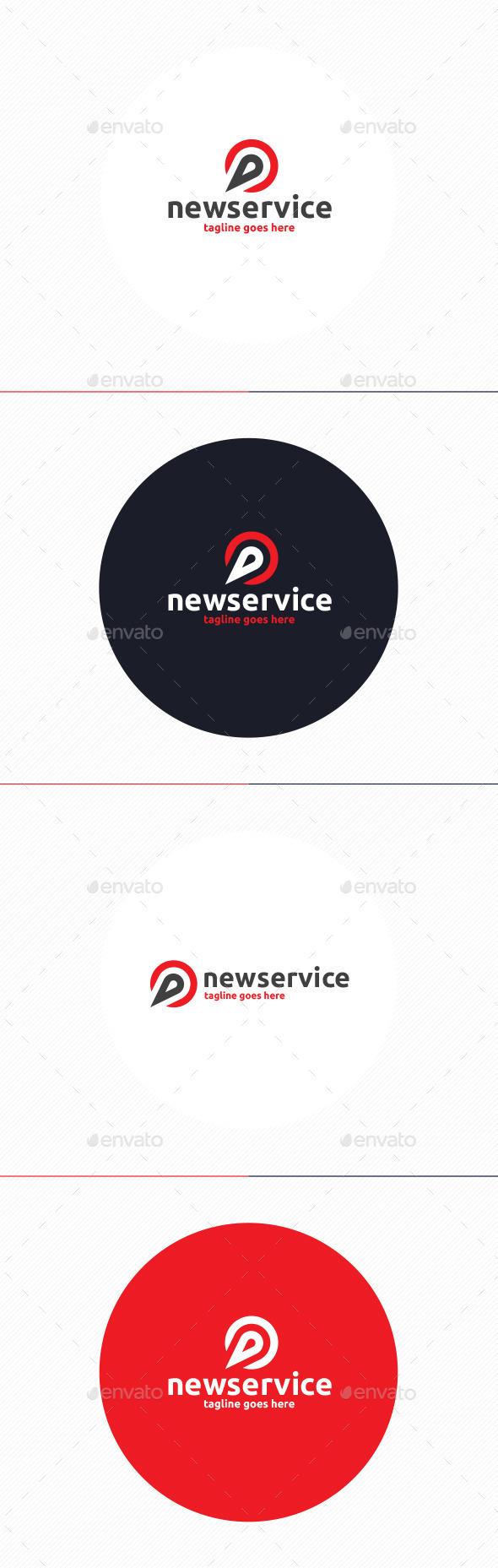 New Service Logo - Vector Abstract