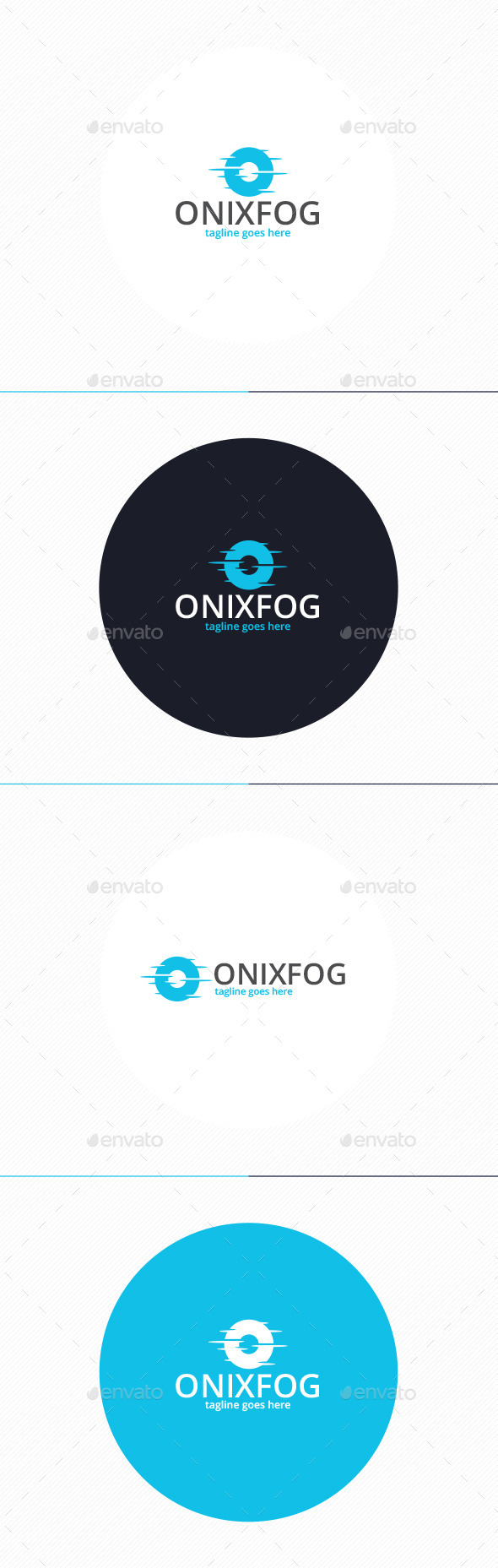Onyx Fog Logo • Letter O - Letters Logo Templates